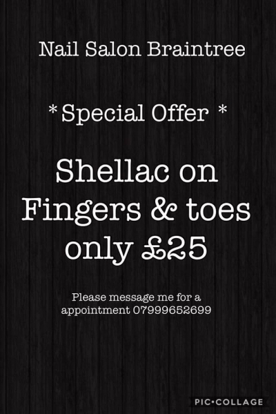 💅* Special offer  *💅 This amazing special offer will continue to run until 1.3.2018.